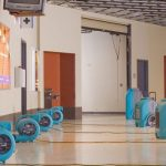 commercial water damage by ServiceMaster by Wright