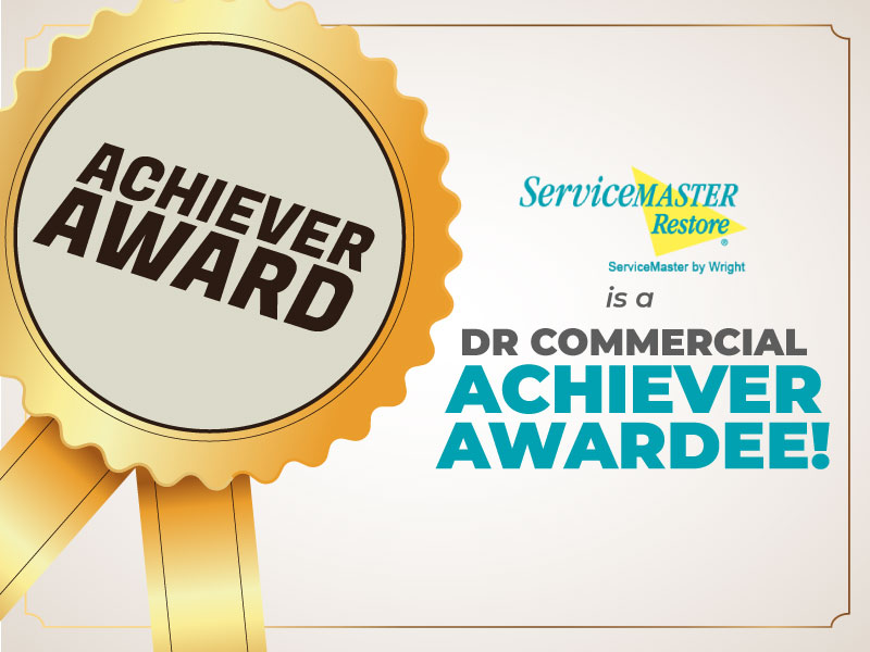 Read more about the article ServiceMaster Restore DR Commercial Achiever Award