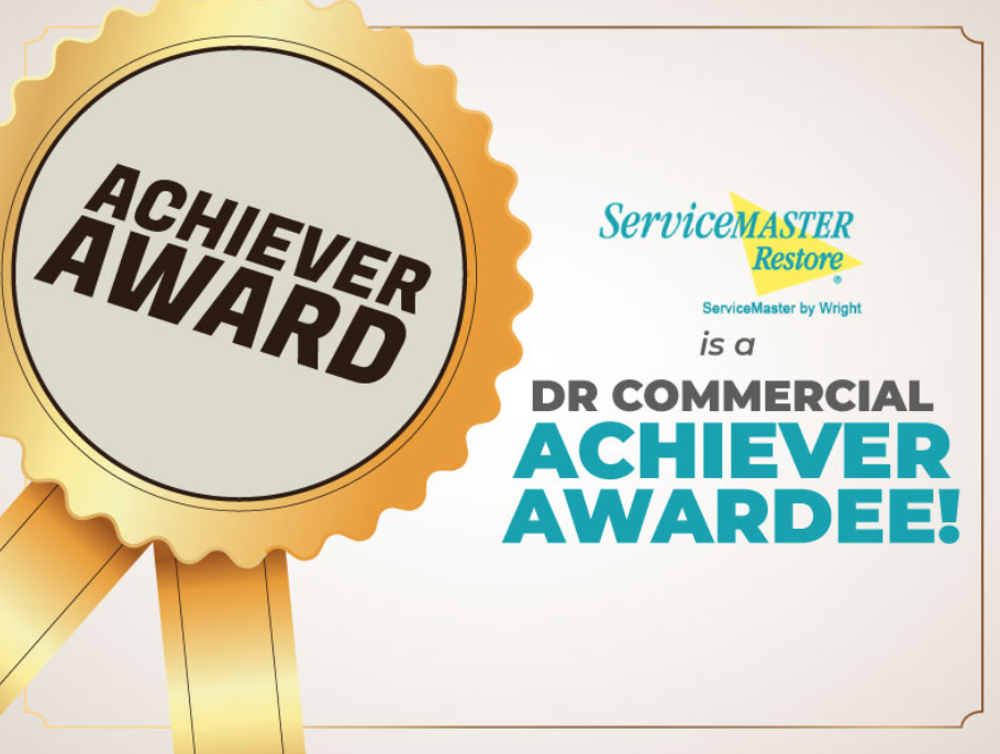 ServiceMaster, DR COMMERCIAL Achiever awardee