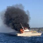 Boat in Fire