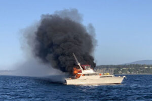 Read more about the article Boat Fire in Marco Island